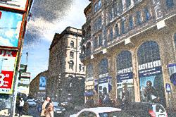 Budynek giełdy we Lwowie